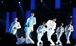 Cross Gene at 2015 Summer K-POP Festival.jpg
