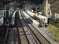 Crosskeys Station, seen from footbridge - geograph.org.uk - 1157266.jpg