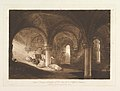Crypt of Kirkstall Abbey (Liber Studiorum, part VIII, plate 39) MET DP821474.jpg