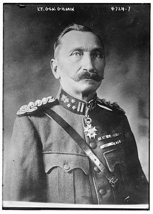 Cyriaque Gillain - Image: Cyriaque Cyprien Victor Gillain (1857 1931) in 1918