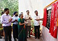 D.V. Sadananda Gowda inaugurating the new office building of the National Sample Survey Office (NSSO), Ministry of Statistics & Programme Implementation, in Shahdara, Delhi.jpg
