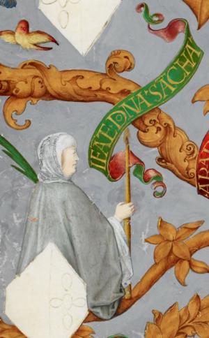 Sancha, Lady of Alenquer - Image: D. Sancha de Portugal The Portuguese Genealogy (Genealogia dos Reis de Portugal)