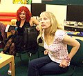 DANIELLE RAMSEY AND VALERIE LAWS AT MIDDLESBROUGH CENTRAL LIBRARY (7410217964).jpg