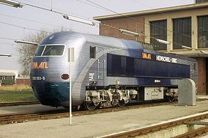 Henschel-BBC DE2500 - Streamlined DB 202 003
