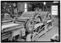 DETAIL VIEWS OF CARDING MACHINE - Ketner Mill, East bank of Sequatchie River, Victoria, Marion County, TN HABS TENN,58-VICT.V,1-24.tif
