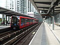 DLR unit 102 at South Quay.JPG