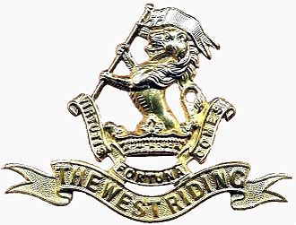 Duke of Wellington's Regiment - Image: DWR Cap Badge Brass