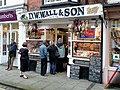 DW Wall - traditional butcher's shop, Ludlow - geograph.org.uk - 1601159.jpg