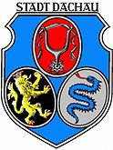 Das Wappen von Dachau