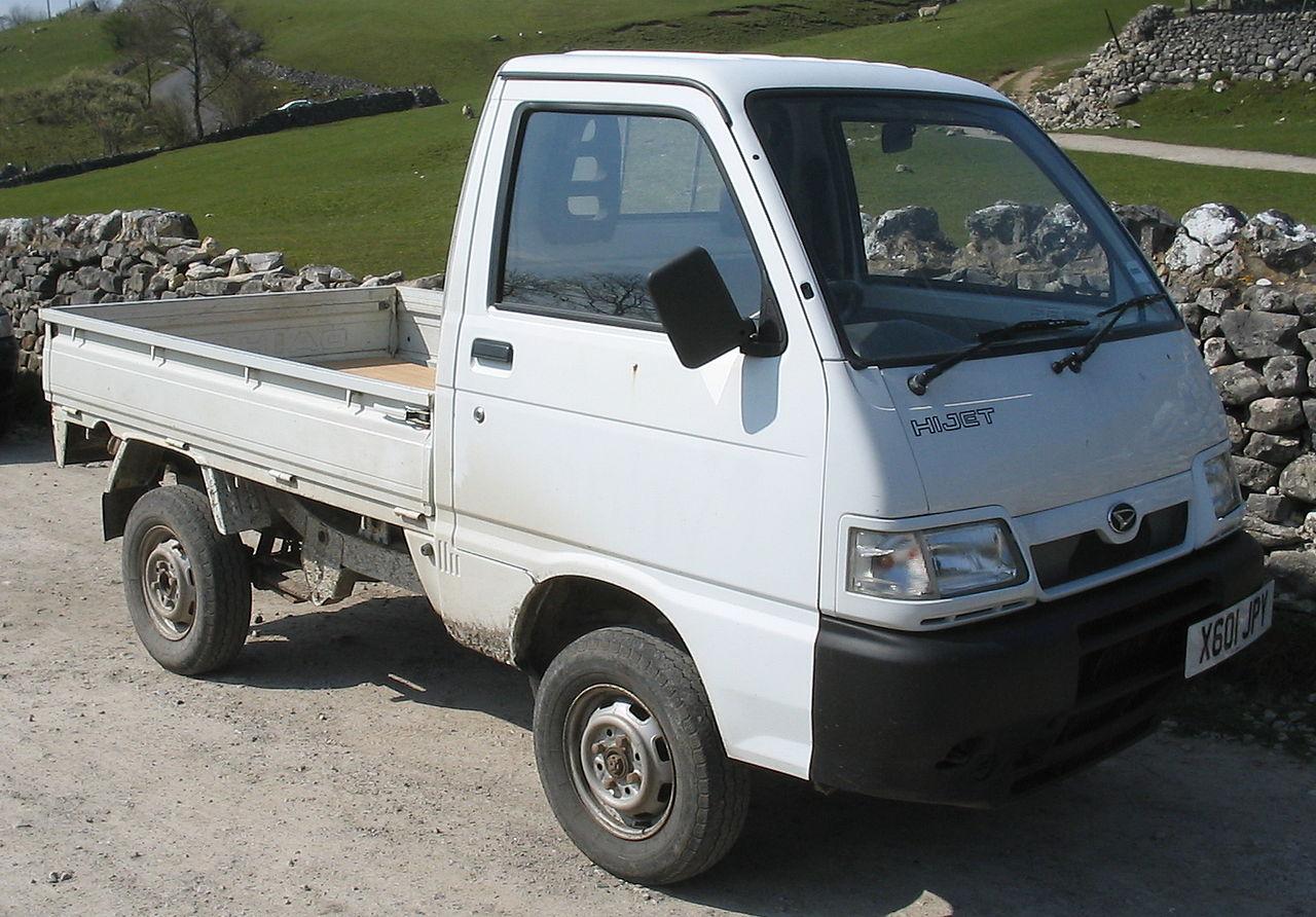 File:Daihatsu Hijet pickup.jpg