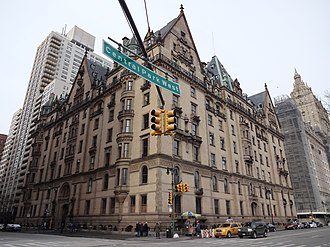 Murder of John Lennon - The Dakota, Lennon's residence and the location of the killing