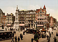 Dam square, Amsterdam, North Holland, the Netherlands, 1890s.jpg