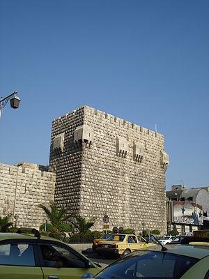 قلعة دمشق 300px-Damascus_citad