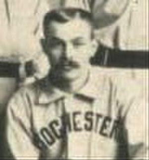 Dan Burke (baseball) - Image: Dan Burke 1889