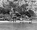 Dana Cove pier in disrepair, 1953 (29909803331).jpg