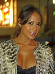 Dania Ramirez på Mercedes-Benz Fashion Week 2009