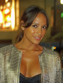 Dania Ramirez at Mercedes-Benz Fashion Week.jpg