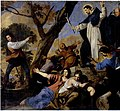 Daniel van den Dyck - St Dominic accompanied by Simon de Montfort raising the crucifix against the Albigensians.JPG