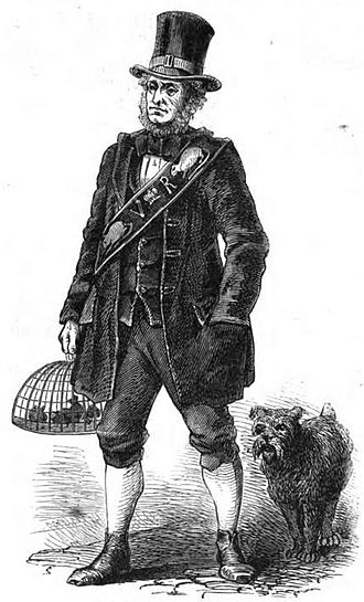 Fancy rat - Jack Black made his living not only from catching rats, but also from selling them for use in baiting.