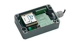 Data logger - Data logger Cube storing technical and sensor data