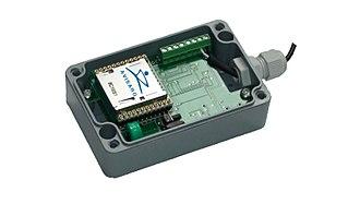 Data logger recording device