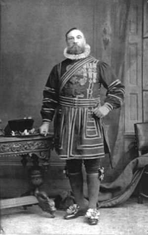 David Spence (VC) - as Yeoman of the Guard