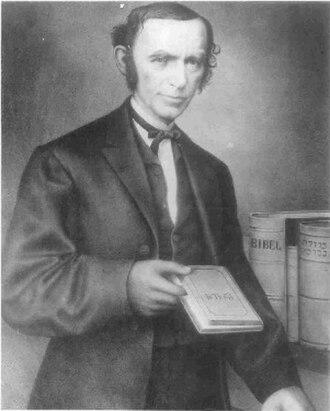 David Einhorn (rabbi) - Image: David Einhorn