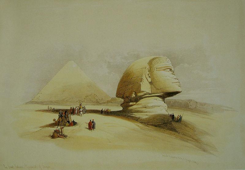 File:David Roberts Sphinx side view.jpg