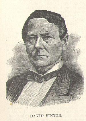 Sinton, Texas - David Sinton, after whom Sinton is named