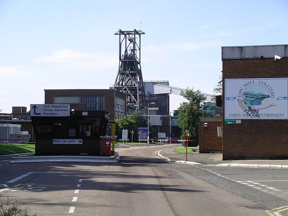Daw Mill Colliery 17s06