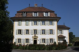 De Diesbach Castle in Torny-le-Grand