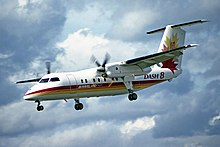 dash 8 aircraft code