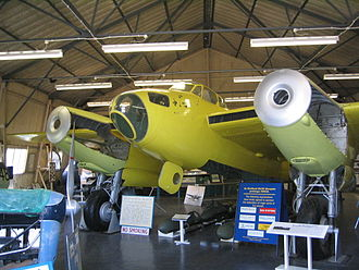 De Havilland Mosquito - W4050 being restored at the de Havilland Aircraft Heritage Centre near St Albans.