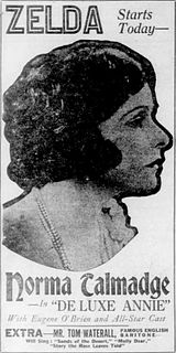 <i>De Luxe Annie</i> 1918 film by Roland West