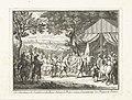 De veldmaarschalken de Chatellon en de Breze begroeten prins Frederik Hendrik, 1632 Les Maréchaux de Chatillon et de Brezé saluent le Prince comme Generalissime des Troupes de France (titel op object), BI-B-FM-060-11.jpg