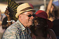 Deacon John watching Michael White & his Liberty Jazz Band Old Algiers Riverfest.jpg
