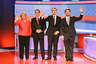 New Majority (Chile) - Presidential primary candidates of the New Majority