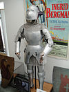 "Debbie Reynolds Auction - Ingrid Bergman signature full suit of armor with chain mail vest from ""Joan of Arc"".jpg"