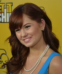 Description de l'image Debby_Ryan_2,_2012.jpg.