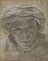 Dehodencq A. - Pencil - Portrait d'oriental - 15x19cm.jpg