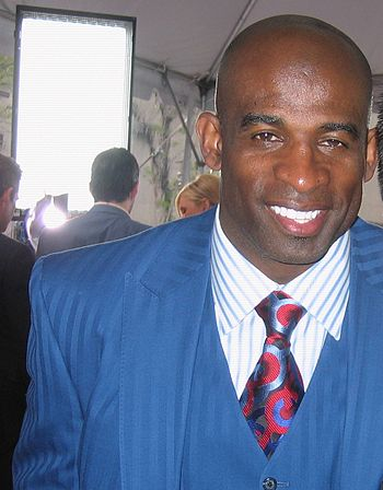 English: Football Hall of Famer Deion Sanders ...