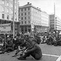 Demonstrasjon mot Warszawapaktens invasjon av Tsjekkoslovakia (1968).jpg