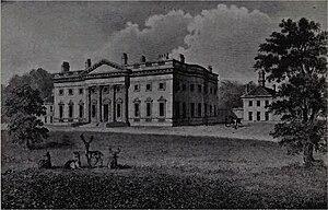 Denton Hall, Wharfedale - Denton Hall, circa 1800