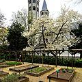 Der Klostergarten an der Evangelischen Kirche Neuwerk.jpg