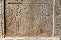 Detail. Stela of Seba, scribe of the treasury of god Ptah, c. 1250 BCE. From Memphis, Egypt. Neues Museum, Berlin.jpg