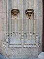Detall de la portada gòtica de l'església de Sant Nicolau - València.JPG