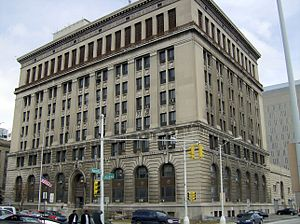 Detroit Police Department - Historic former Detroit Police Headquarters at 1300 Beaubien