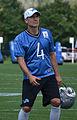 Detroit Lions placekicker Jason Hanson at the 2012 Lions training camp.jpg