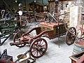 Deutsches Feuerwehrmuseum - Historische fahrbare Handdruckspritze des Johann Georg und Johann Philipp Bach, Gesamtansicht.JPG