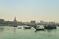 Dhows off old Doha (12544843784).jpg